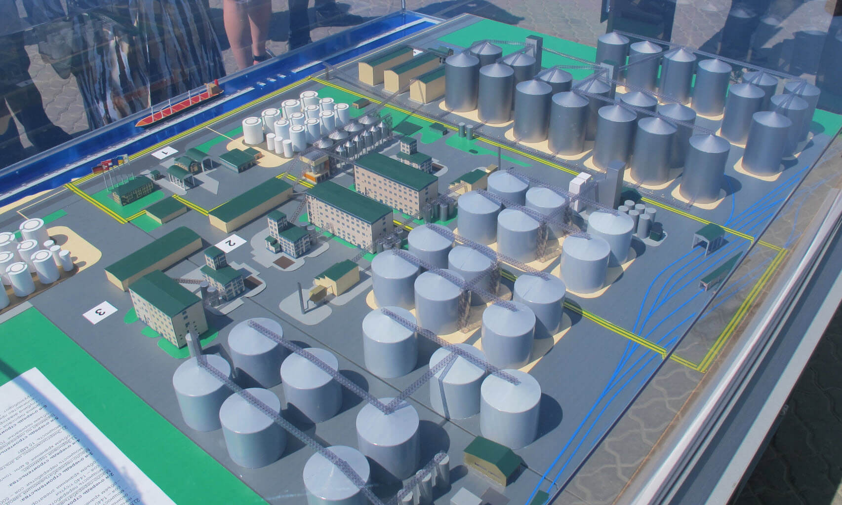 Automation of oil extraction plant