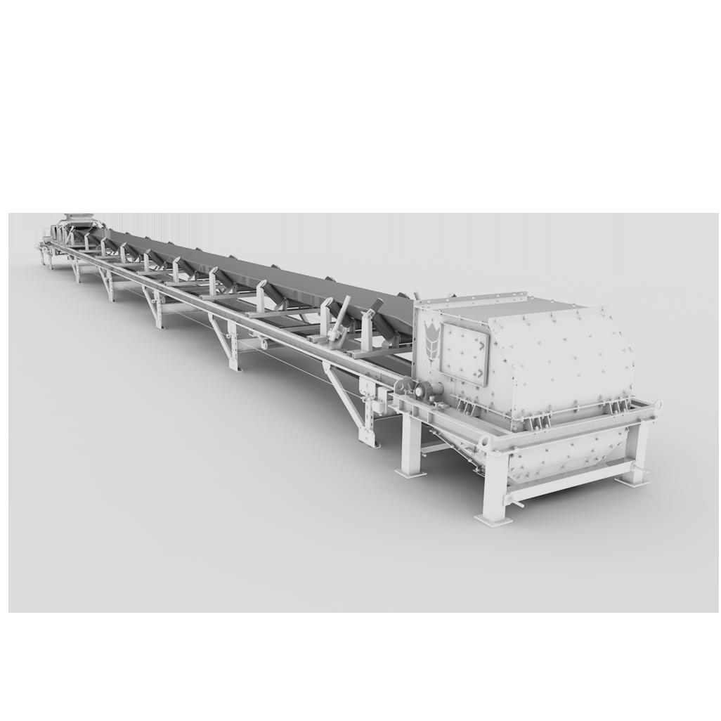 Стоп конвейер при какой длине ленточного конвейера рекомендуется применять натяжную станцию винтового типа