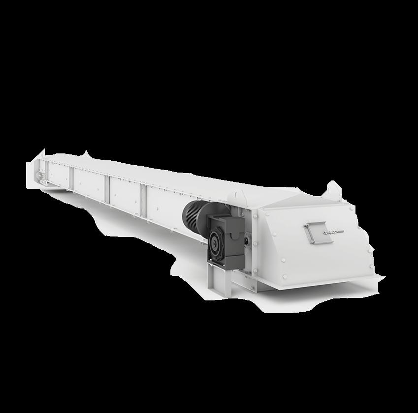 Безроликовый транспортер с помощью транспортера перемещают различные грузы при этом груз удерживается на ленте транспортера