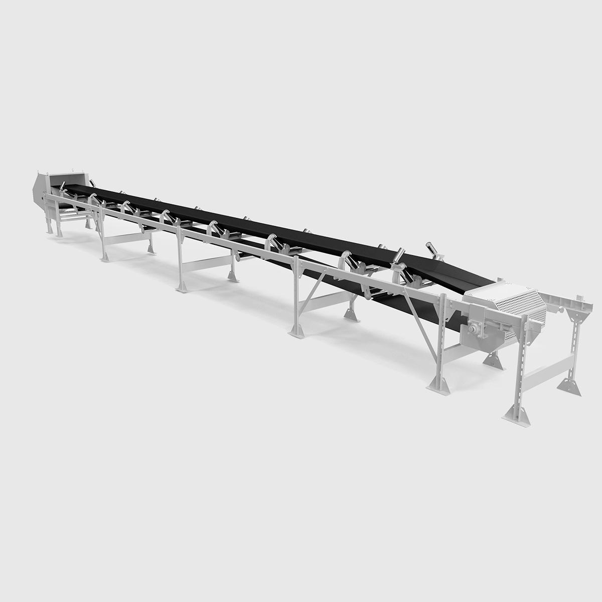 Belt conveyor, conveying machine of open type - Grain Capital