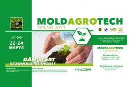 Приглашаем Вас на Moldagrotech (весна) 2020