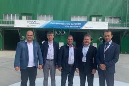 Торжественное открытие Николаевского портового терминала