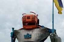 Современная СДАУ на самом крупном в Украине зерновом терминале