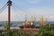 В одесском порту презентовали первый силос нового зерноперевалочного комплекса
